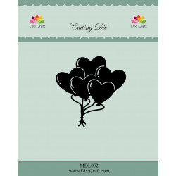Dixi Craft - Heart Balloons...