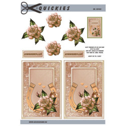 Nellie Snellen - Clear Stamps - Silhouet - Blooming Grass