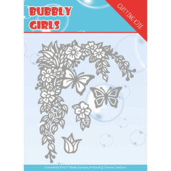 Yvonne Creations - Bubbly Girls - Flower Corner - YCD10167
