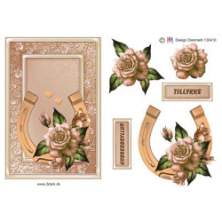 Pushout - Precious Marieke - Flowers In Pastels - Lilac Mist - SB10283