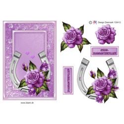 Precious Marieke - Flowers In Pastels - True Blue - CD11139
