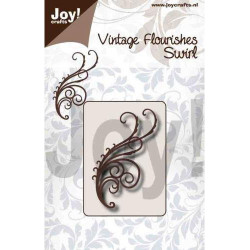 Joy Stempel - Branches With Frog And Swallow - 6410/0491