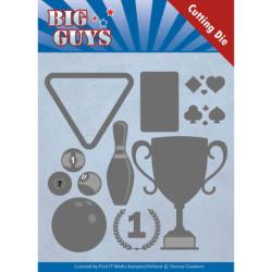 Yvonne Creations - Big Guys - Play To Win - YCD10170