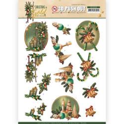 Prima Marketing - Leaf Embellishments - Fall Pine (634626)