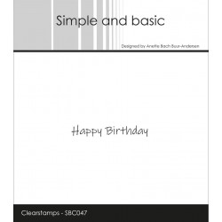 Simple And Basic - Stempel...