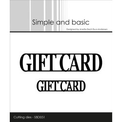 Simple And Basic - Giftcard...