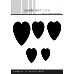 Simple And Basic - Hearts -...