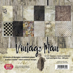 Marianne Design - Papirblok - Swedish Winter - PK9159