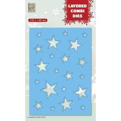 Amy Design - Christmas Wishes - Twelve O'clock Frame - ADD10148