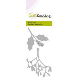 Dixi Craft - Papirblok - Winter Feelings - Green- PPL008