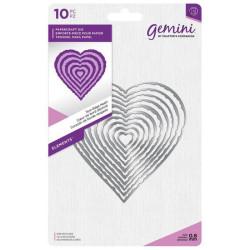 Gemini - Torn Edge Heart -...