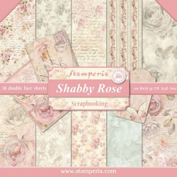 Stamperia - Shabby Rose -...