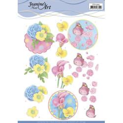 Jeanine's Art - Flowers -...