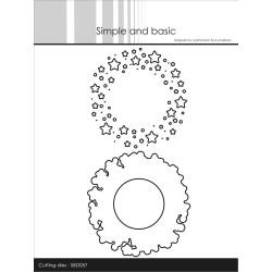 Papirdesign - Tur I Skogen - Revestreker - 30.5x30.5