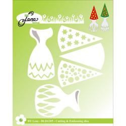 Papirdesign - Hjem Til Jul - Julekrans - 30.5x30.5