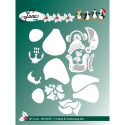 Papirdesign - Hjem Til Jul - Julesnø - 30.5x30.5