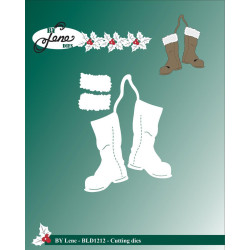 By Lene - Christmas Boots -...