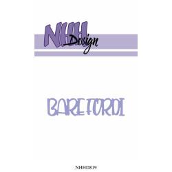 NHH Design - Bare Fordi -...