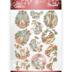 Precious Marieke - Winter Flowers - Snowflake Flower Frame - PM10139