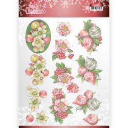 Precious Marieke - Winter Flowers - Floral Snowflake - PM10140