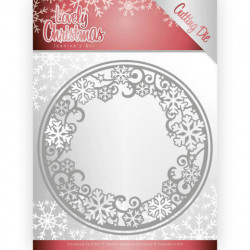 Jeanine's Art - Lovely Christmas - Lovely Circle Frame - JAD10077