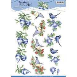 Jeanine's Art - Blue...