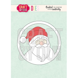 Craft & You - Santa Claus -...