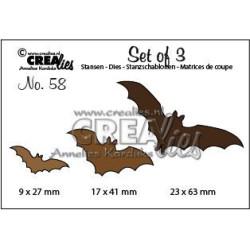 CREAlies - Set Of 3 - Bats...