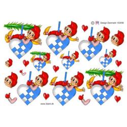 Sizzix - Tim Holtz - Thinlits Die - Merry Moose - 663103