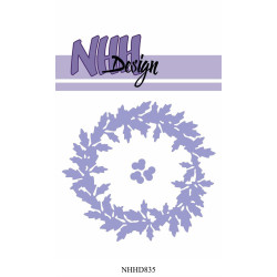NHH Design - Holly Wreath -...