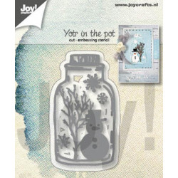 Joy! - Snowman In Jar -...