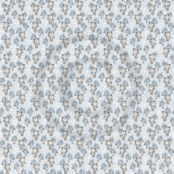Dixi Craft - Papirblok - Watercolour Background - Grey - PPL018