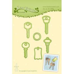 Leane Creatief - Car keys -...