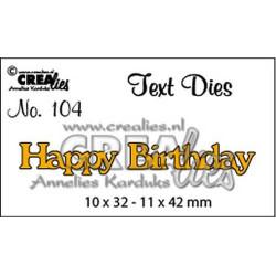 CREAlies - Happy Birthday -...