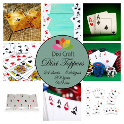 Dixi Craft - Toppers - ET0346