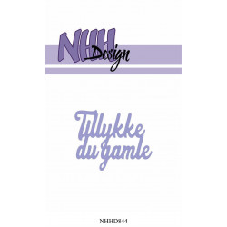 Nested Flowers Stickers 2 - Diamond Purple