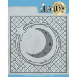 Yvonne Creations - Lilly Luna - Stars And Moon Frame - LL10005