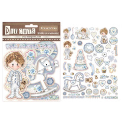 NHH Design - Die - Little Boy Sitting - NHHD006