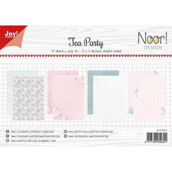 Joy - Papirblok A4 - Let's Party - 6011/0609