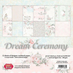 Prima Marketing - 12x12 Inch Paper Pad - Pretty Pale (631758)