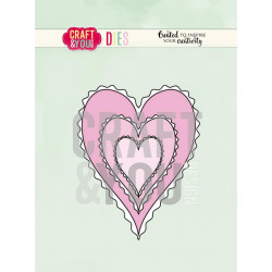 Craft & You - Hearts - CW082