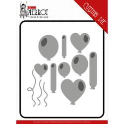 Laserowe LOVE - Chipboard - Hearts - First Love