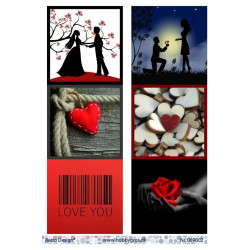 First Edition - 6x6 Inch Paper Pack - Wild At Heart (FEPAD136)