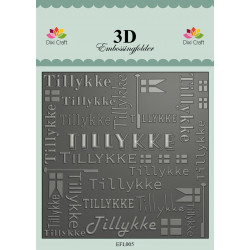 Stampers Anonymous - Tim Holtz Cling Mount Stamps - Slate & Stone