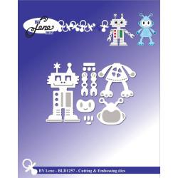 By Lene - Robots - BLD1257