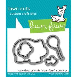 Lawn Fawn - Year Four - LF660