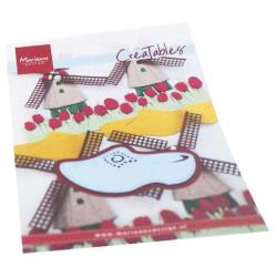 Craft & You - Papirblok 15.2x15.2 - Flower Vibes - CPB-FV15