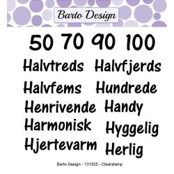 Barto Design - Stempel -...