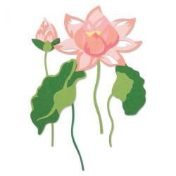 Papirdesign - Vårstemning - Tohjuling, Rosa - 30.5x30.5