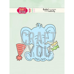 Craft & You - Elephant - CW085